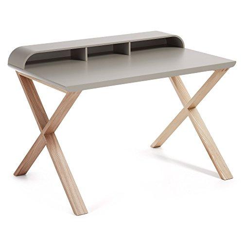 Kave Home - Working Schreibtisch grau und esche -