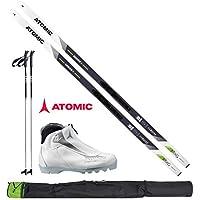 Atomic Langlaufski-Set Mover X in 163cm + Bindung + Schuhe Women + Stöcke + Skisack 17/18