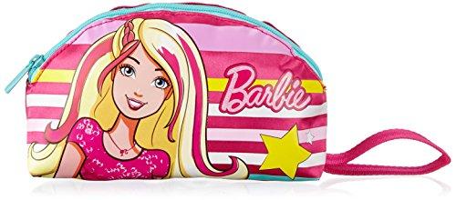 Portapenne barbie - scuola, poliestere, multicolore