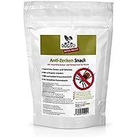 [Gesponsert]Dogs-Heart Anti-Zecken Snack (250g) für Hunde - Biologische Abwehr gegen Zecken, Flöhe und Milben - Auch für Welpen geeignet