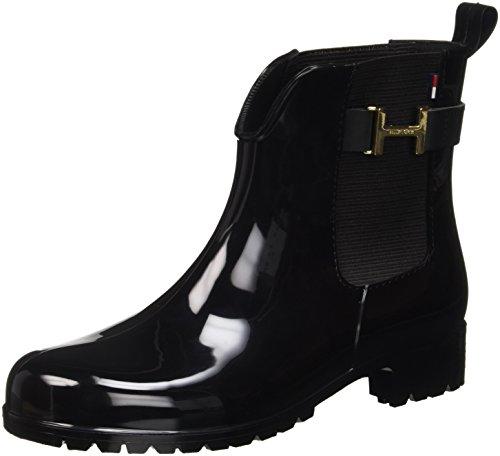 tommy hilfiger damen o1285xley 7r chelsea boots schwarz. Black Bedroom Furniture Sets. Home Design Ideas