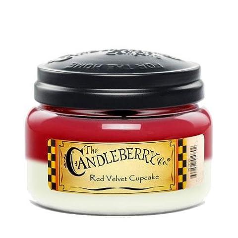 Candleberry Red Velvet Cupcake Fragranced 10oz. Jar Candle (Medium)