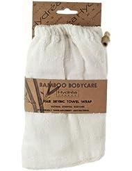 Hydrea London - Serviette très absorbante très douce pour cheveux en bambou naturel
