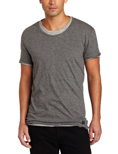 J.C. Rags Herren T-Shirts   - Grau - Dark Grey Melange - XX-Large (Rags Jc)
