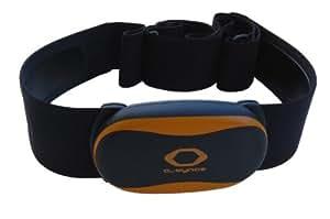O-Synce Heart2feel X Puls-Brustgurt mit digitaler ANT + 2,4 GHz Sensor