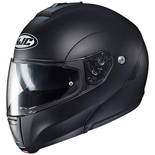 Preisvergleich Produktbild Motorradhelm HJC C90 Logo Matt Schwarz XL Schwarz