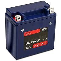 ECTIVE 12V 10Ah Gel Motorradbatterie YB9-B : 5Ah - 21Ah (absolut wartungsfrei)