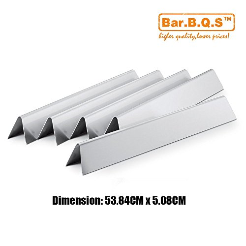 Bar.b.q.s Stainless Steel Grill Burner Flavorizer Bars Cooking Grids Replacement Parts For Spirit 500, Spirit 500LX, and Genesis Silver A gas grills