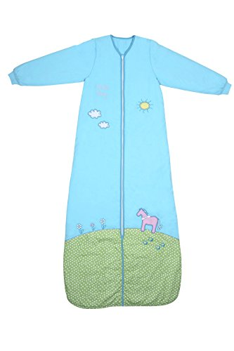 Schlummersack Baby Winter Schlafsack Langarm 3.5 Tog 110cm/12-36 Monate - Pony