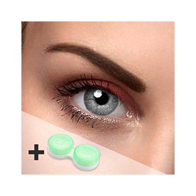 858be2f730d3d Lentilles de contact colorées Contact souples pouvant tenir lieu de  lentilles annuelles Sans