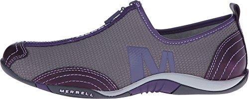 Femmes Merrell Barrado Chaussures Casual Silver/Loganberry