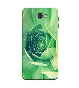 Fuson green flowers theme Designer Back Case Cover forSamsung Galaxy J7 Prime (2016)-3DQ-1049