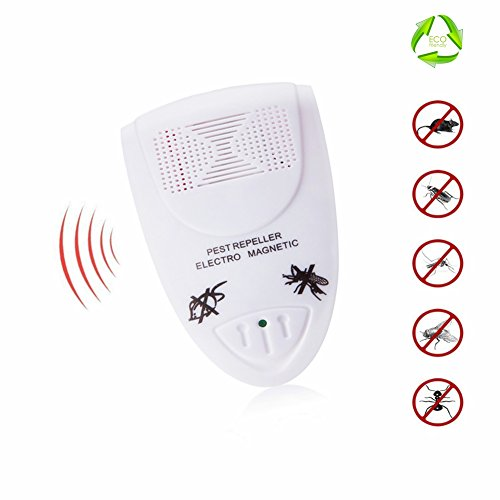 NIUJINMALI Ultrasonic Pest Repeller - Electronic Pest