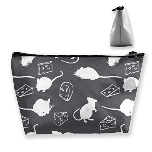 Rattenkäse Schatten Muster Federmäppchen Stift Reißverschlusstasche Münze Organizer Makeup Costmetic Aufbewahrungstasche Tasche - Tasche Duck Daisy Make-up