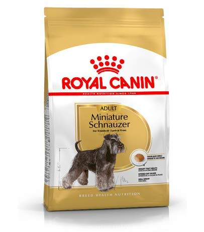 Maltbys' Stores 1904 Limited 3kg Royal Canin MINIATURE SCHNAUZER ADULT Breed Health Nutrition Dog food