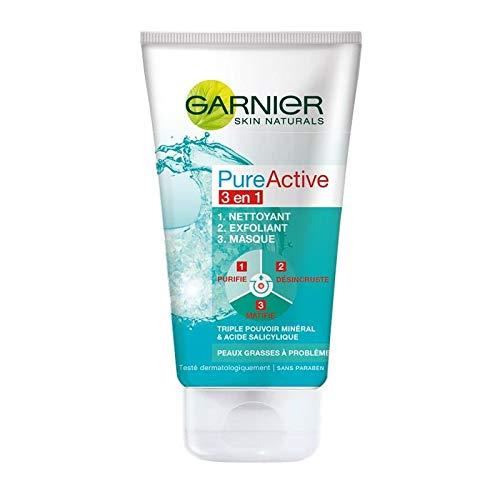 Garnier - Activo Puro 150Ml Máscara De Limpieza Exfoliante