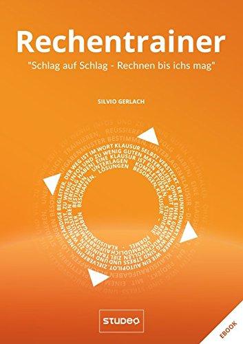 """Rechentrainer """"Schlag auf Schlag – Rechnen bis ich's mag"""" (Klausurtrainer)"""