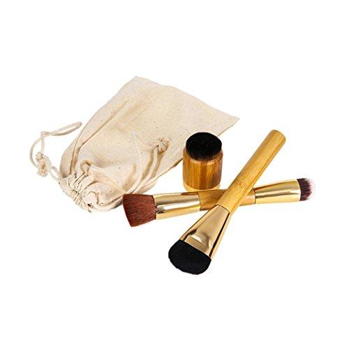 MuSheng(TM ) 3 pc maquillage poudre anti - cernes balais brosse brosse contour bois rougir cahier des charges: