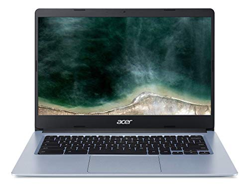 "Acer Chromebook CB314-1H-C2TG Ordinateur portable 14"" HD (Celeron N4000, 4Go de RAM, 64Go eMMC, UHD Graphics 600, Chrome OS)"