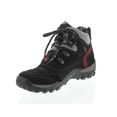 Waldläufer Hilvi 519972-452-655 Schwarz