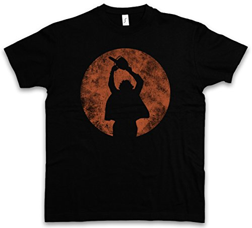Chainsaw Texas T-shirt (Chainsaw Man T-Shirt – Kettensägen Massaker Texas Horror Movie Massacre Leatherface Mask Größen S – 5XL)