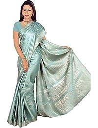 Bollywood Sari Kleid Gletschereis CA118