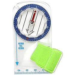 zreal Vaso portátil para mini-pollice con escalera de mapas para acampada de acampada