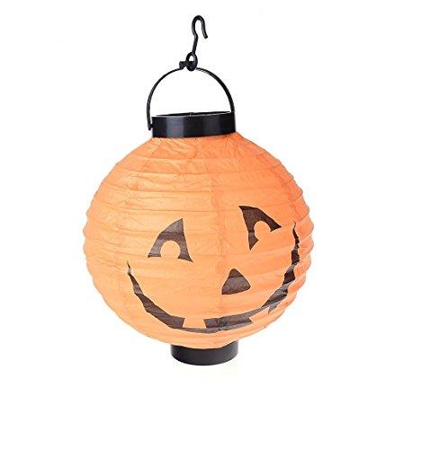 Halloween Kürbis mit LED Deko aufblasbar für den Garten Halloween Festival Partei Dekor Requisiten (Aufblasbare Requisiten)