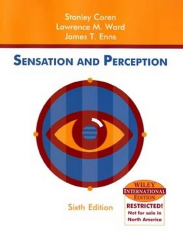 Sensation and Perception (International Edition) by Stanley Coren (2003-10-24)