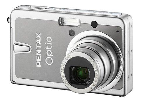 Pentax Optio S10Digitalkameras 10.37Mpix Optischer Zoom 3x Silver und grau Zoom, Pentax Optio