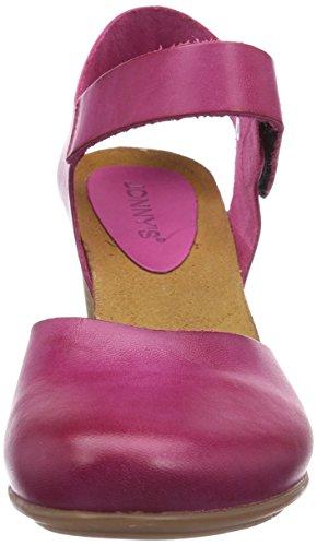 Jonny's - Ursuline, Con cinturino alla caviglia Donna Viola (Violett (Fuxia))