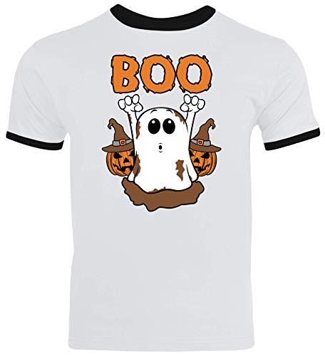 Partner Gruppen Ghost Herren Männer Ringer Trikot T-Shirt -