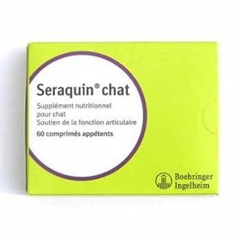 BOEHRINGER Seraquin NF pour Chat Boîte de 200 Comprimés Appètent