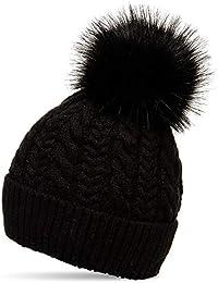 Amazon.it  pelliccia donna - Cappelli e cappellini   Accessori ... d90477de3d8c
