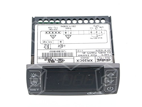 Dixell Elektronikregler XR20CX-5N0C0 230V für Kühlgerät AC für NTC/PTC -55 bis +150°C 71x29mm