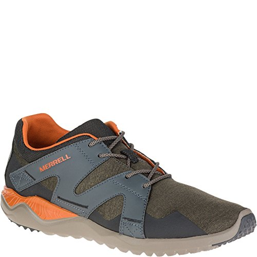 Merrell Mens 1Six8 Lace Lightweight Breathable Athletic Trainers Vert