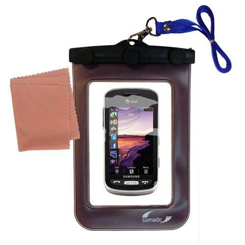 Die Abwaschbare Wasserdichte Schutztasche für die Samsung Solstice SGH-A887 (Solstice Wasser)