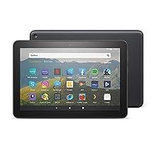Das neue Fire HD 8-Tablet, 8-Zoll-HD-Display, 64 GB, Schwarz mit Spezialangeboten, für Unterhaltung unterwegs