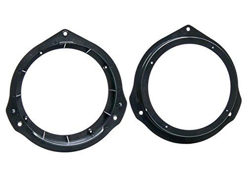 Lautsprecher Einbauset Ringe Adapter für Mercedes C-Klasse W204 2007-2014 165mm (Klasse Ringe 2013)