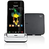 Gigaset SL930A Telefon - Schnurlostelefon/Mobilteil - mit Farbdisplay - Anrufbeantworter/schnurloses Telefon/Design Telefon - schwarz