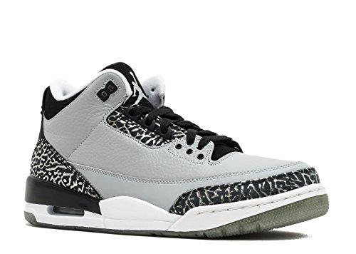 AIR Jordan 3 Retro 'Wolf Grey' - 136064-004 - Size 47.5-EU