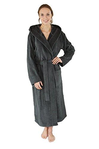 d77f943b822ce6 WEWO Fashion by Otto Werner - Albornoz - Básico - para Mujer Antracita XXL