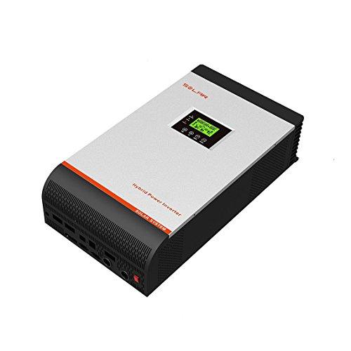 24 Volt 30 Amp (Hybrides Investor Onda reine 3KVA (2400W Pico 4800Watt 24V Regler MPPT 60Amp 30Amp Ladegerät)