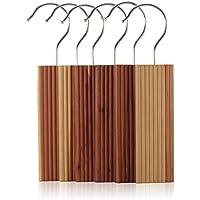 Hangerworld Lot de 12 blocs antimites en bois de cèdre à suspendre