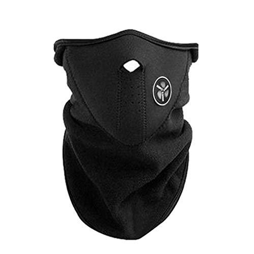 Zerama Outdoor-halbe Gesichtsmaske Fahrrad Motorrad-Maske Hood windundurchlässiges Neck Warmer Winter Skifahren Mundschutz -