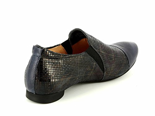Think Guad 87725-82 Damen Damen Slipper in Mittel Blau
