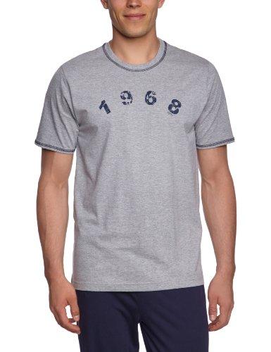 ESPRIT Bodywear Herren Schlafshirt R1539/M&M T-SHIRT Grau (FB)