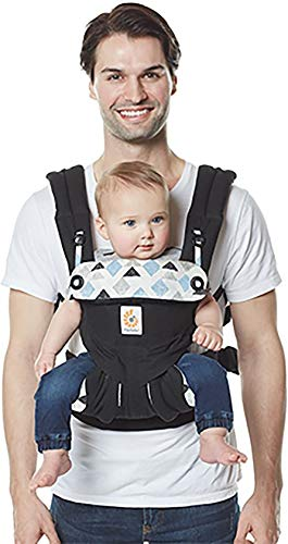 Ergobaby Babydraagzak 360 Sunrise Triple Triangles Ergobaby Made of 100 percent cotton and machine washable It has four comfortable and ergonomic ways to wear baby Provides maximum comfort for parents 2