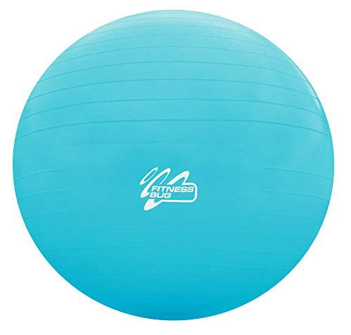 FitnessBug-Exercise-Ball-Anti-Burst-Yoga-Core-Strength-Stability-Balance-Yoga-Gym-Extra-Thick-Heavy-Duty-Fitness-Swiss-Ball-with-Pump-Turquoise