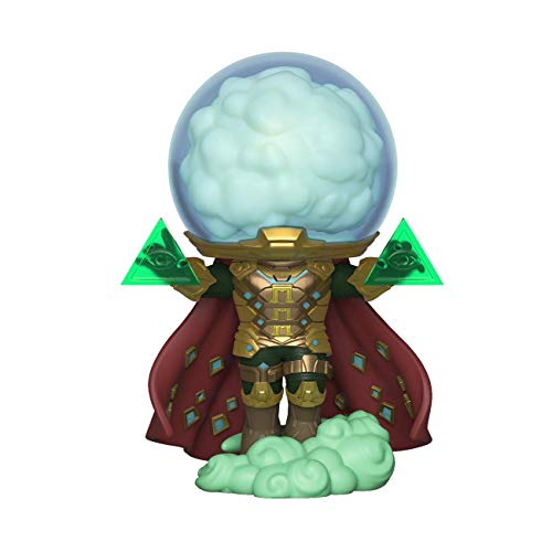 Funko 39206 POP! Vinyl: Spider-Man Far from Home: Mysterio Disney Marvel Sammelbares Spielzeug, Mehrfarben